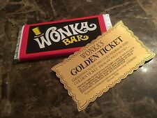 Willy Wonka And The Chocolate Factory Replica Wonka Bar Gene Wilder