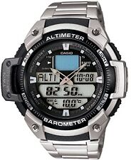 Casio Men's Core SGW400HD-1BV Digital Stainless-Steel Quartz Sport Watch