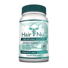 HairNu - Natural Hair Loss Treatment - Fast Hair Growth  (1 Bottle)