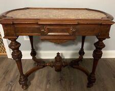 Beautiful Walnut Victorian Center Table~~Lamp Table