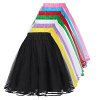 Bp Girl Women's Luxury Retro Vintage Dress 3 Layers Tulle Netting Petticoat New