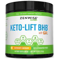Zenwise Health Keto Bhb Sels + Gobhb Énergie Boost Musculation 222ml 213 Grammes