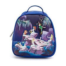 Loungefly Disney Peter Pan Mermaids Mini Backpack New