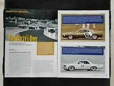 1971 Ohio SCCA Trans-Am Racing  - 4 Page Article - Free Shipping