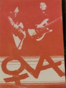 OVA - SELF TITLED - CASSETTE - STROPPY COW RECORDS - SC222 - 1979 - SUPER RARE