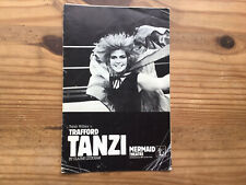 More details for signed toyah mermaid theatre programme - trafford tanzi-  claire luckham 1980s