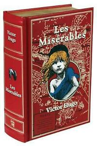 Les Miserables by Victor Hugo (English) Leather Book Free Shipping!