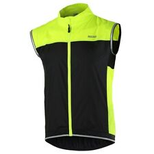 Unisex Cycling Jersey Vest Sleeveless Windproof Waterproof Mtb Bicycle Clothing