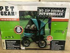 New ListingNo-Zip Double Pet Stroller by Pet Gear