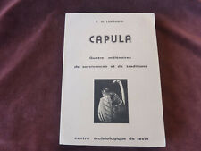 Capula,Lanfranchi,1978,TBE,388 pages,archeologie corse