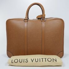 2006 Louis Vuitton Epi Leather Sirius Suitcase Bag Brown Silver Briefcase 3520