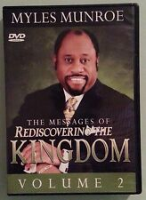 myles munroe  THE MESSAGES OF REDISCOVERING THE KINGDOM volume 2    DVD