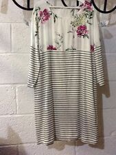 Joules Mini Striped Dresses for Women