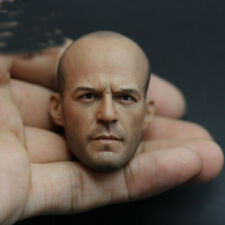 """1/6 Scale Jason Statham Head Sculpt Model For 12"""" Male Action Figure Body Toys"""