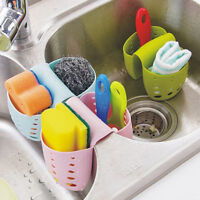 Great Kitchen Sink Tidy Holder Sponge Brush Bathroom Washing Organizer Drainer