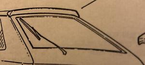 VAUXHALL SRI,GSI USED REAR ROOF SPOILER    IN BLUE  FOR 3 DOOR