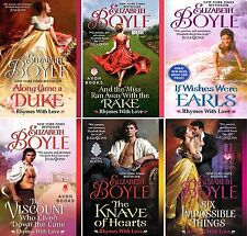 Rhymes with Love Series Collection Set Books 1-6 Mass Paperback Elizabeth Boyle