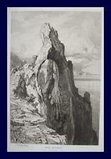 Ludwig Hans Fischer Capri Arco Naturale Neapel Napoli Salzburg Wien Felsen Meer