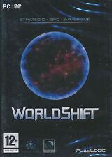 WORLDSHIFT World Shift Strategic RPG PC Game DVD NEW!