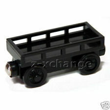 CARGO CAR BLACK Thomas Wooden Tank Engine train NEW