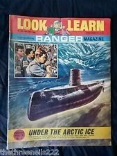 LOOK and LEARN # 339 - UNDER THE ARTIC ICE - JULY 13 1968