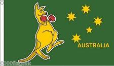 Australia Boxing Kangaroo 5'x3' Flag