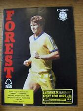 31/12/1983 Nottingham Forest v Liverpool  (No obvious faults)
