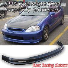 Mu-gen Style Front Bumper Lip (Urethane) Fits 99-00 Honda Civic 2dr