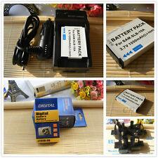 SLB-10A Battery + Charger for Samsung WB850F WB855 WB855F EC-WB850FBPBUS