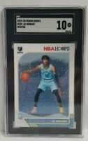 2019-20 Panini NBA Hoops Ja Morant #259 Winter RC Rookie SGC 10 GEM MINT🔥🔥🔥