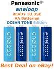 **SALE** Panasonic Sanyo Eneloop AA Ocean Tone NiMH Rechargeable Batteries 2100X
