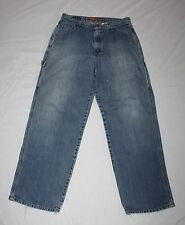 Distressed Levis Silvertab Carpenter Jeans Tag 32x32 Actual 34x31 Medium Wash