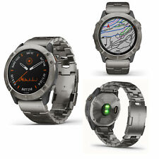 Garmin Fenix 6x Pro Solar Edición Titanio Inteligente GPS Correr SPORTS Reloj