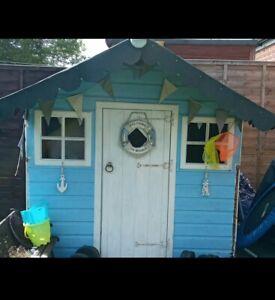 Children garden shed