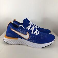 Nike Epic React Flyknit 2 Racer Blue (CJ5228-400) Mens Running Shoe Size 10