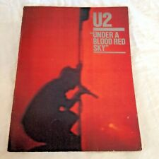 1984 U2 Under a Blood Red Sky Piano/Guitar Music Book, Sunday Bloody Sunday