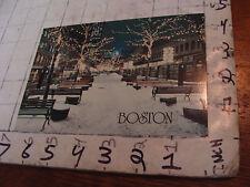 Kennett Neily Postcard: quincy market BOSTON MA, rick birkenshaw photo
