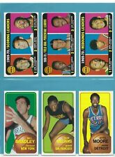 1970-71 Topps Starter Set Lot of 90 Different Basketball Cards NM