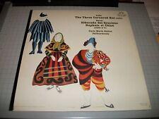 Falla The Three Cornered Hat~Ravel~Carlo Maria Giulini~Picasso Art Work Cover