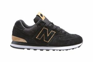 New Balance 574 Men's Casual Shoes Fashion Sneakers Swede Black NWT ML574JFE