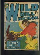 Wild Bill Hickok # 5 reader copy fair/good 1950 Avon Publishing CBX5