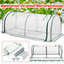 Portable Mini Greenhouse Garden PE Cover Flower Plant Keep Warm Window