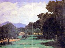 Mural Ceramic Tiles Home Cezanne Decor Tile #384