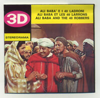 Ali Baba and the 40 Thieves Italian View-Master Stereorama 3 Reel Packet