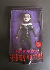 """Sadie 2003 Fashion Victims MEZCO Living Dead Dolls 10"""" MIB GV"""