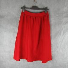 New! Stunning! Glamorous Red Skirt Size S Casual Stylish Fashion Clothing