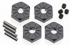 Axial AX30427 SCX10 EXO Narrow 12mm Aluminum Hub Set w/Hardware (Black) (4)