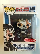 Funky POP Crossbones Battle Damage 140 Target Exclusive Captain America CivilWar