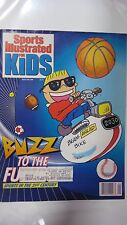 January 1990 Buzz Beamer Sports Illustrated For Kids