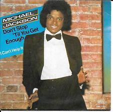 """45 TOURS / 7"""" SINGLE--MICHAEL JACKSON--DON'T STOP TIL YOU GET ENOUGH--1979"""
